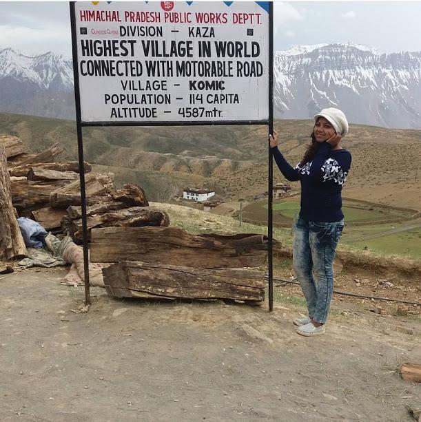 Komic village , Kaza